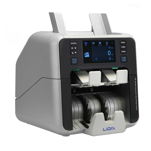 LIDIX ML-Series Discriminator Currency Counter