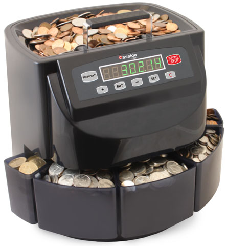 Cassida C200 Coin Counter Sorter